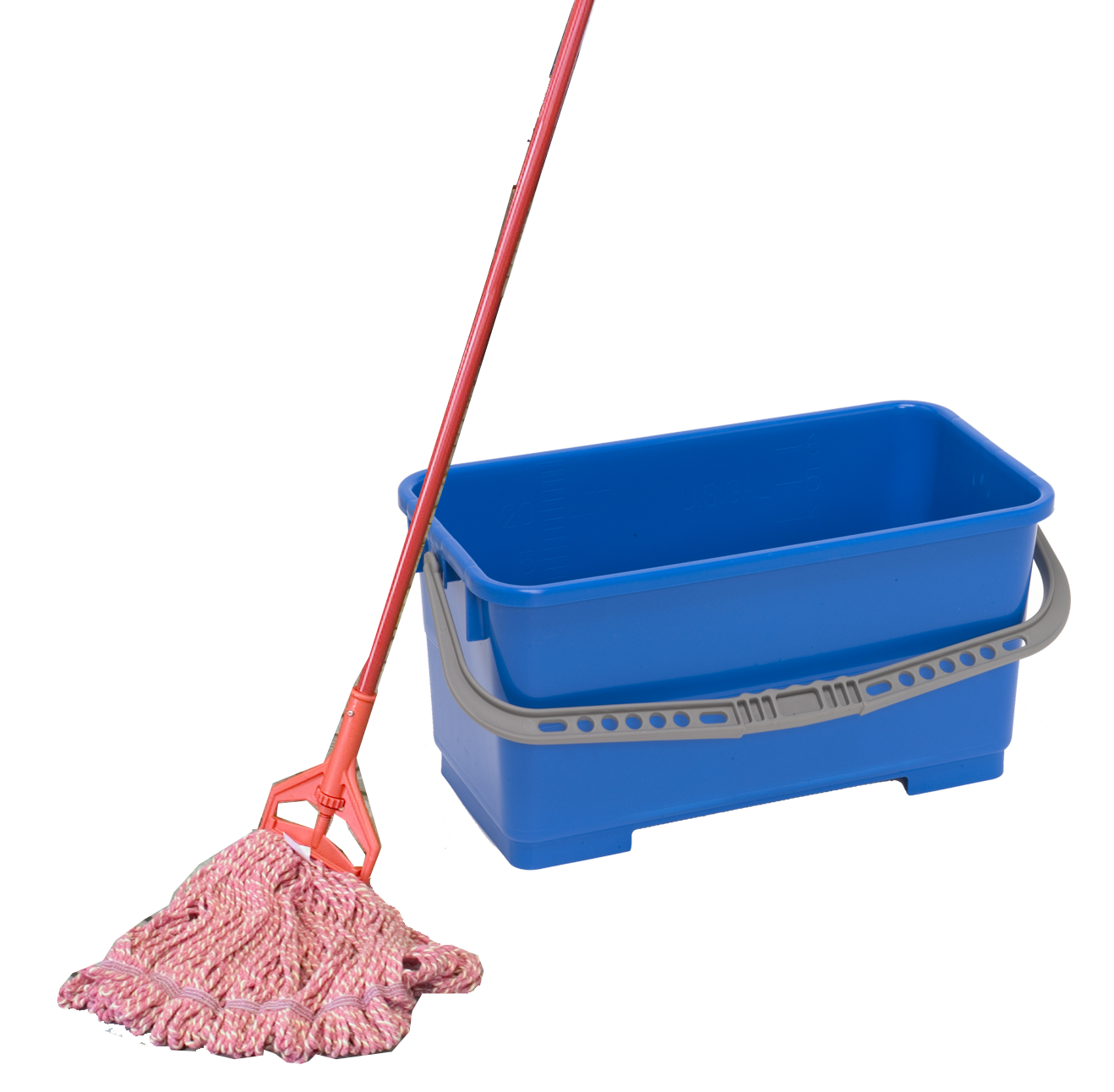 Mop And Bucket ...